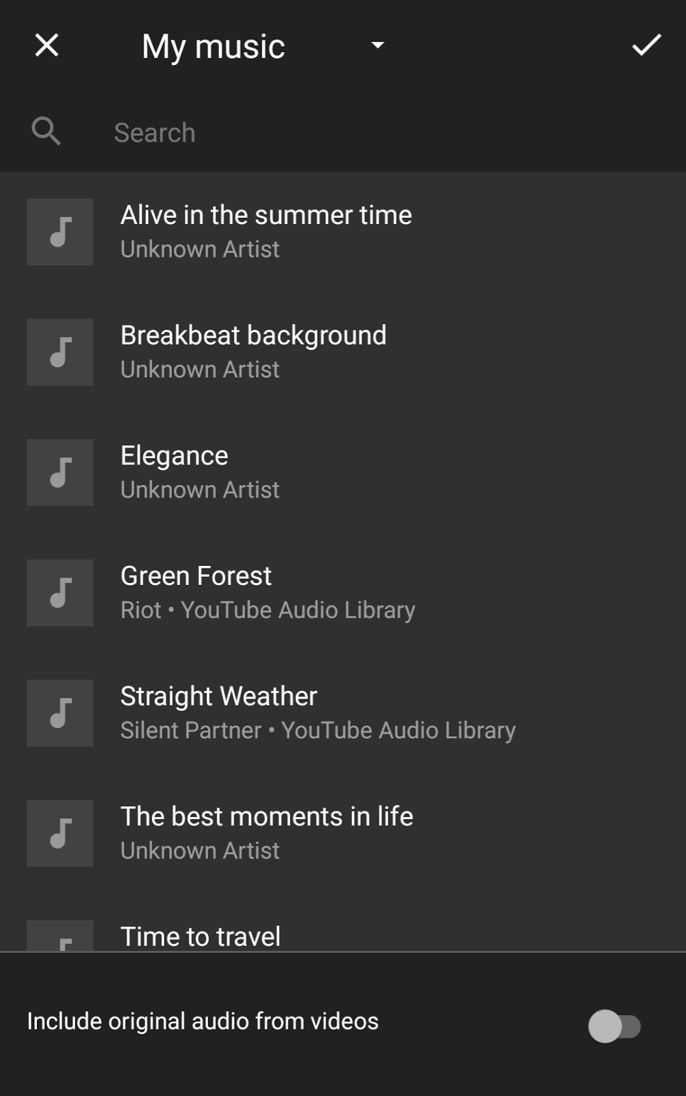 Add music to your Google Photos movie from the YouTube Audio Library ...
