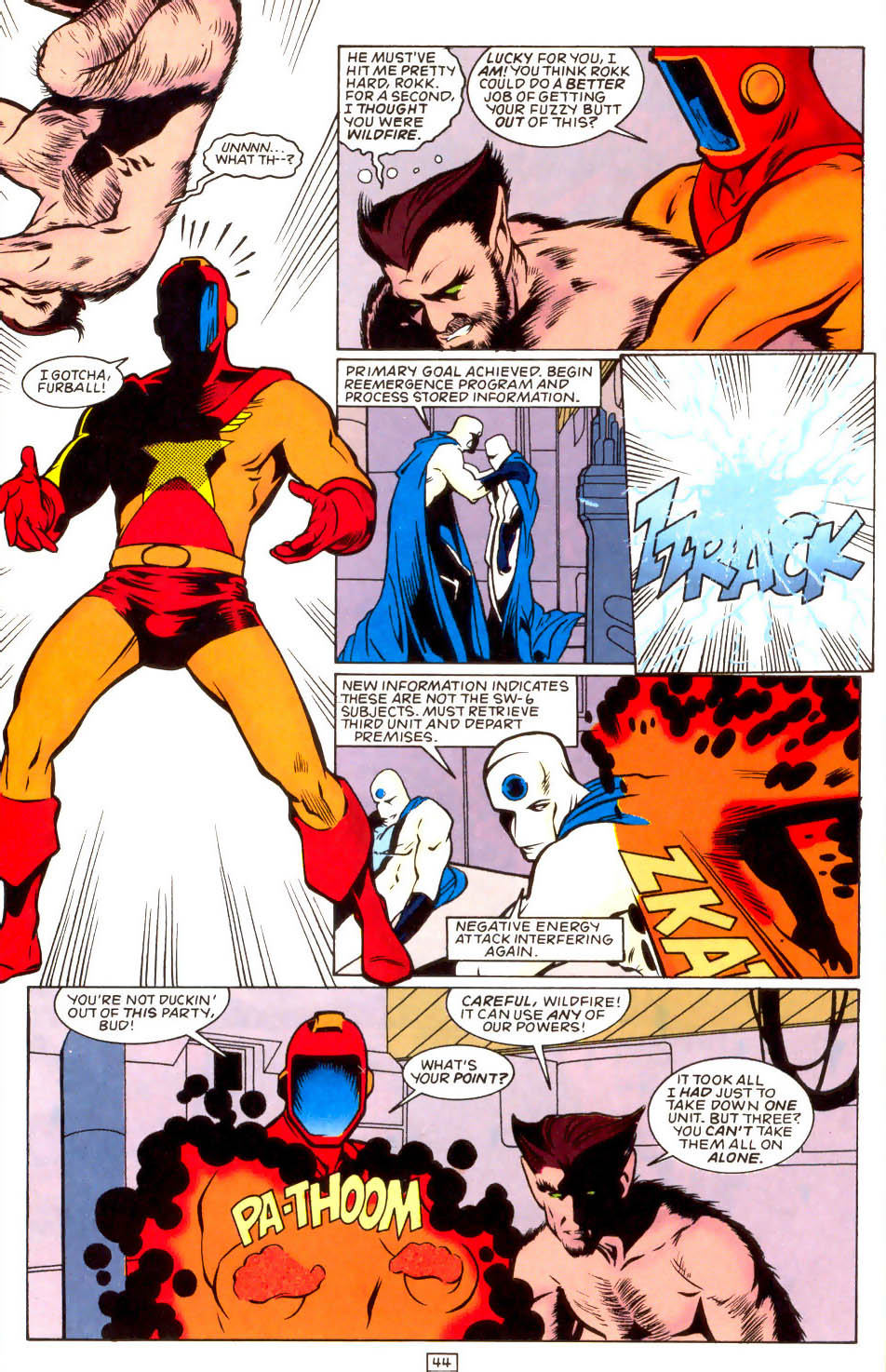 Legion of Super-Heroes (1989) 50 Page 44