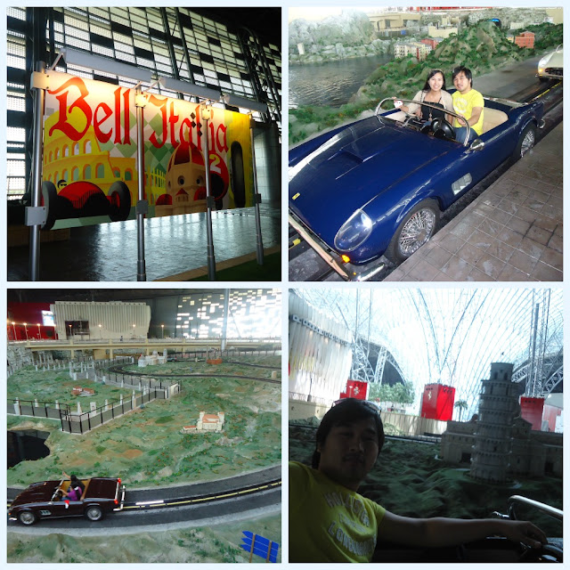 Bell Italia at Ferrari World Yas Island Abu Dhabi