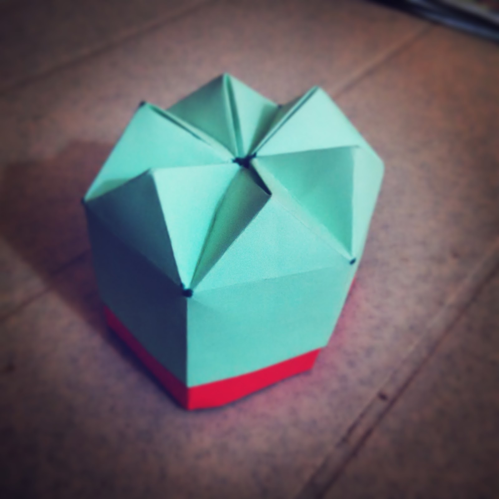 hexagon gift box tomoko fuse try watching this video on www youtube com or enable javascript if it [ 1600 x 1600 Pixel ]
