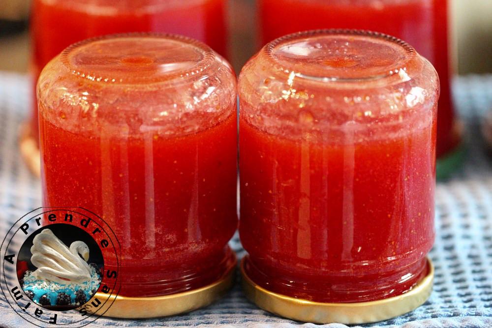 Confiture de fraises (pas à pas en photos)
