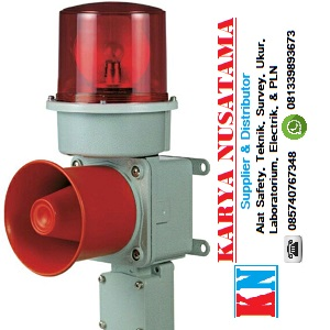 Jual Sirine Untuk Pabrik Roti Qlight SED-WS Revolving Warning 220V di Bogor