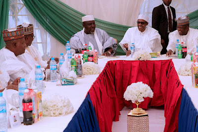 Photos: President Buhari Meets APC Governors