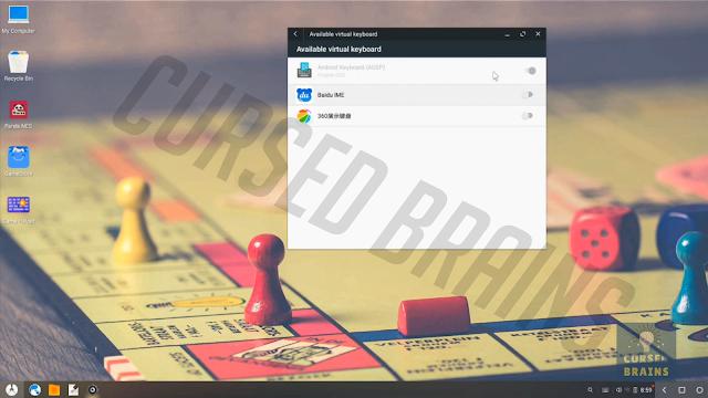 Phoenix OS - Change default keyboard - android keyboard