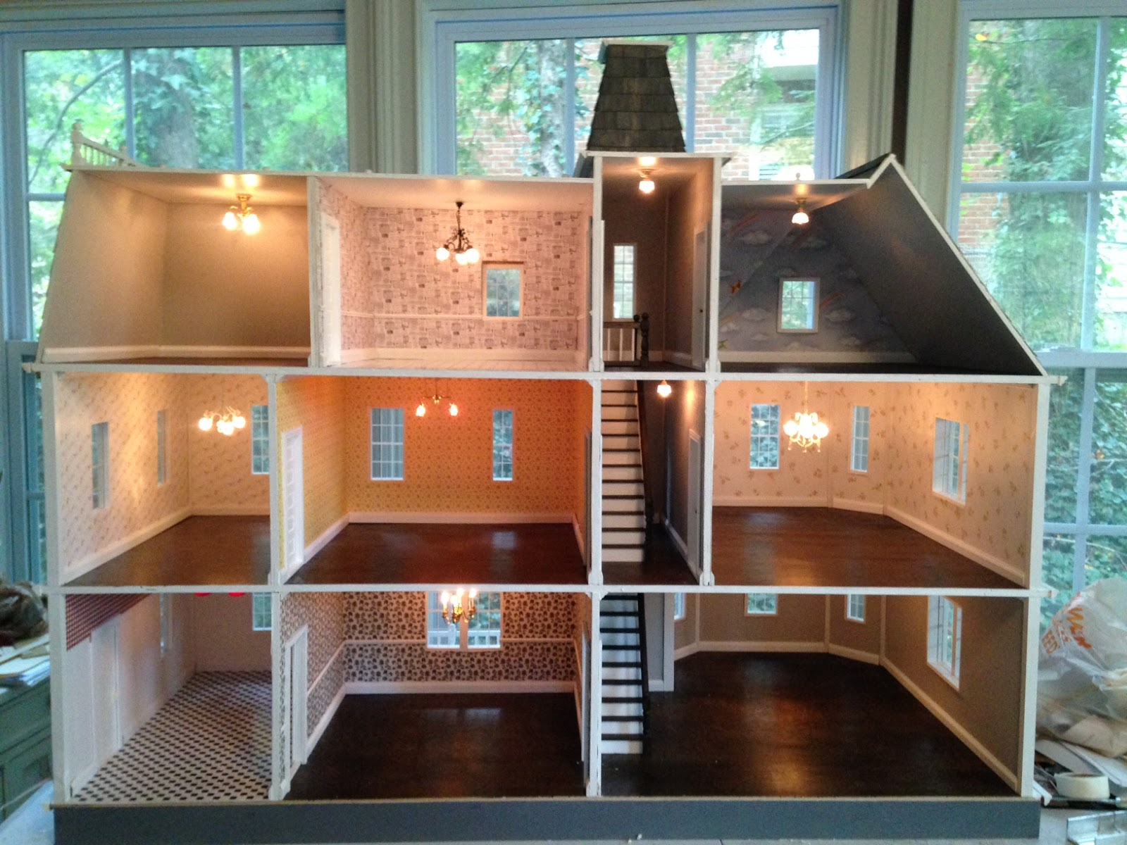 Little Darlings Dollhouses More Finished Dollhouses