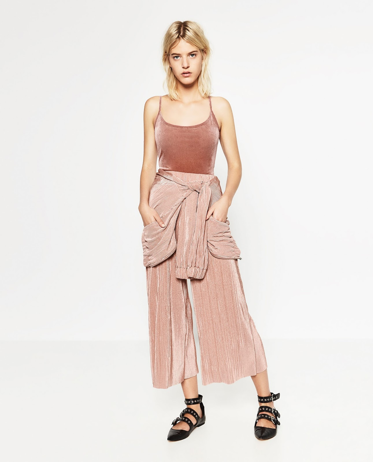 zara pink pants, zara fall winter, zara aw 2016