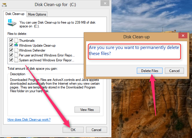 Windows Clean up without an software 6