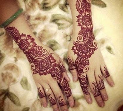 Henna Tangan Pernikahan Untuk Anda Cara Merias Pengantin Berhijab