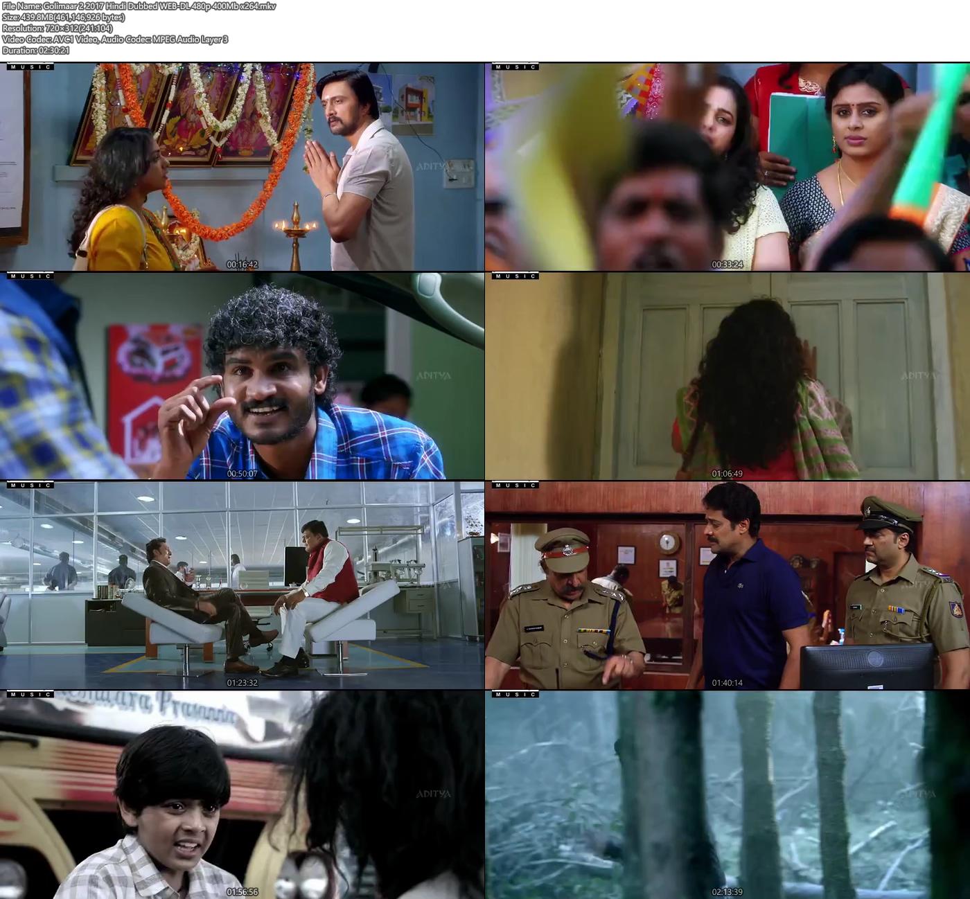 Golimaar 2 2017 480p Hindi Dubbed WEB-DL 400MB x264 Screenshot