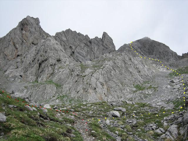 Rutas Montaña Asturias: Desvío al Siete o a los Castillines desde Joyos de la Cabra