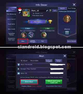 setting mobile legend game