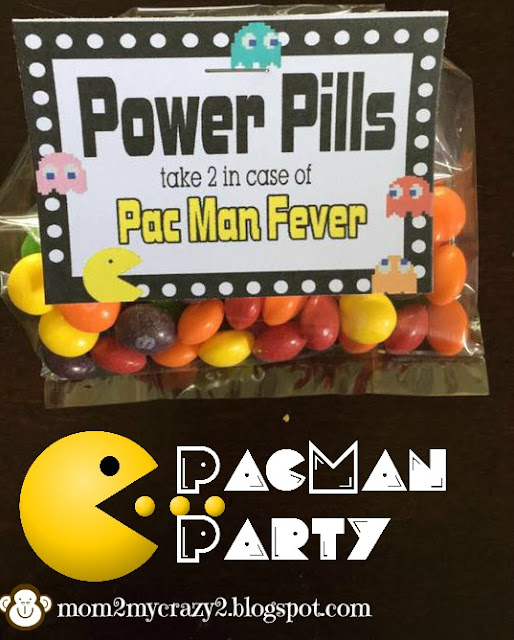 PacMan Party .. Inside the Goody Bag (Power Pill)