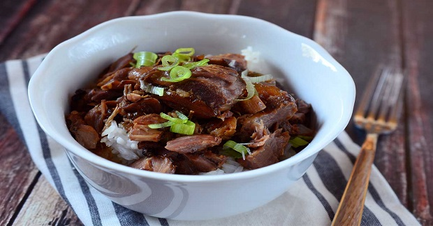 Slow Cooker Pork Adobo Recipe