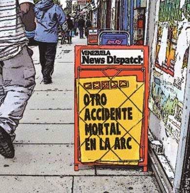 Newsstands - ARC autopista regional del centro Venezuela