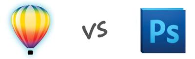 Perbedaan Adobe Photoshop dan CorelDraw