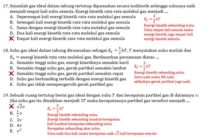 Wisata Fisika Materi Teori Kinetik Gas Dan Termodinamika