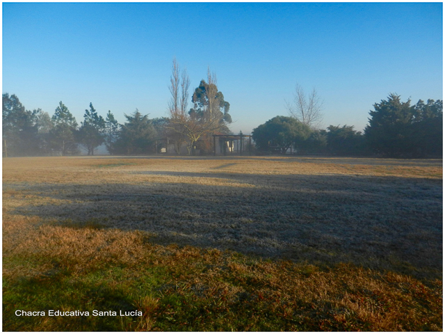 Mañana fría en la Chacra - Chacra Educativa Santa Lucía