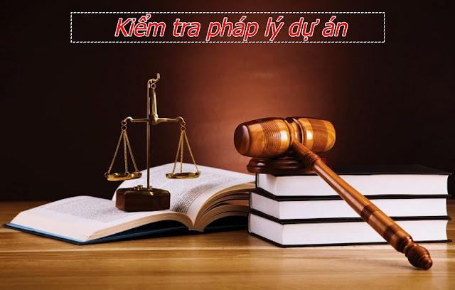 Kiểm tra hồ sơ pháp lý của dự án