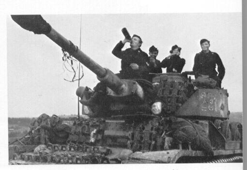 Alaturi de camarazii sai pe frontul de Est