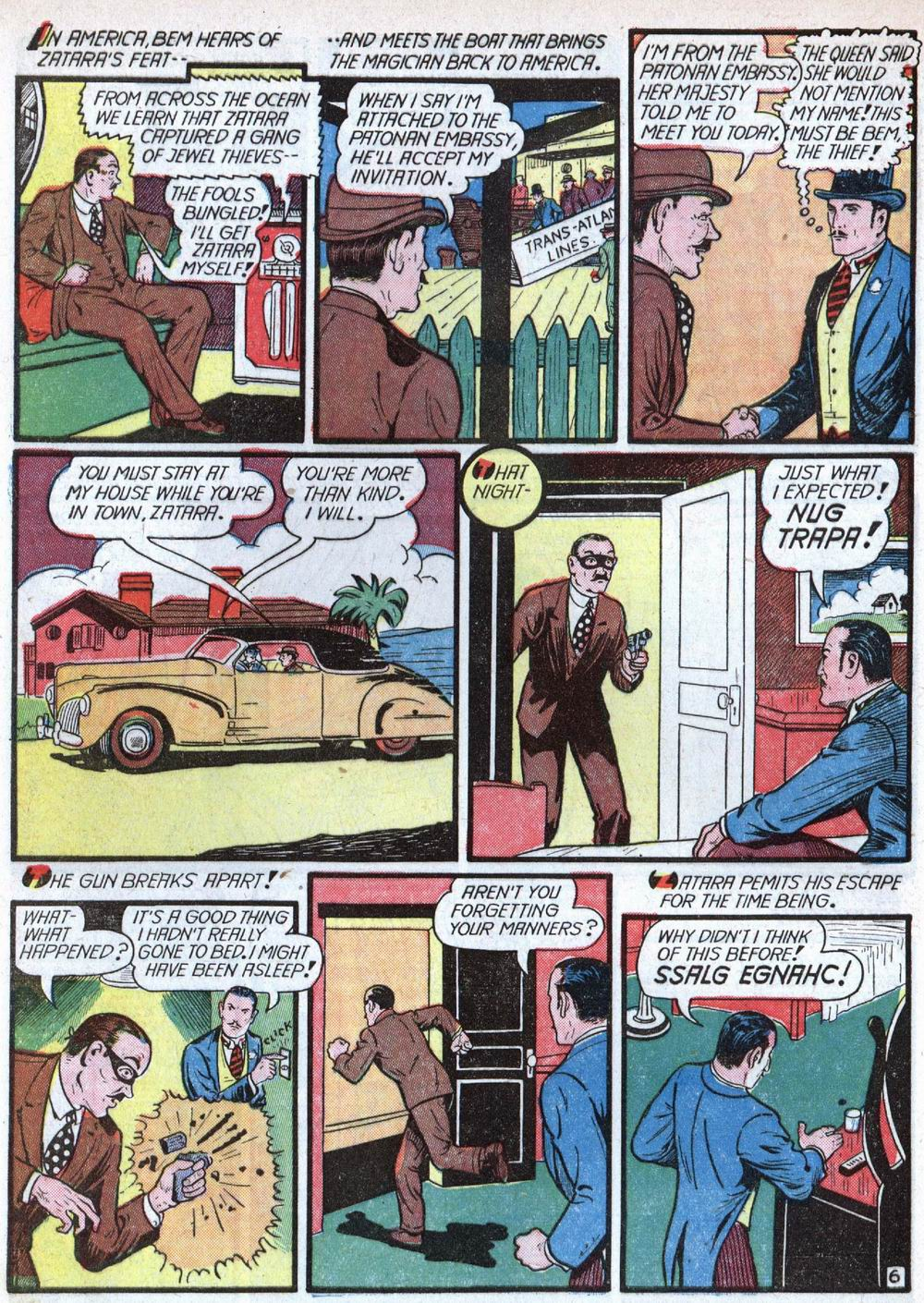 Read online Action Comics (1938) comic -  Issue #39 - 62