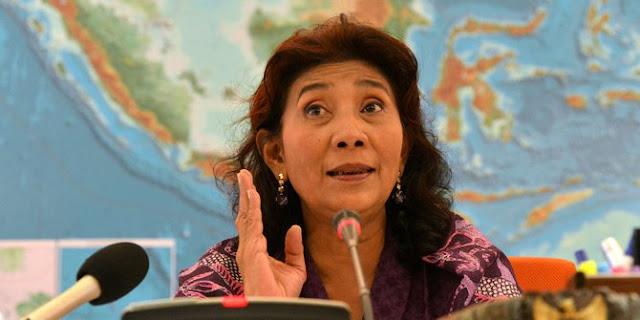 KRI Tjiptadi-381 ditabrak, Ibu Susi mau tenggelamkan 51 kapal Vietnam