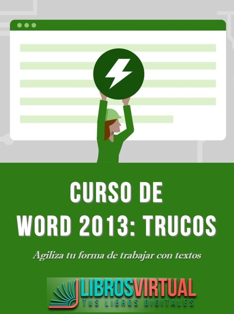 Video2Brain: Word 2013: Trucos – Agiliza tu forma de trabajar