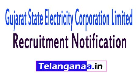 Gujarat State Electricity Corporation Limited GSECL Recruitment Notification 2017