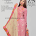 Areeba Saleem Peach Leather & Jacquard Shawl Fall-Winter Collection 2015-16 By ZS Textile