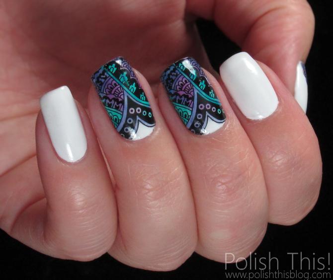 Essie Silk Watercolor Nail Art - Polish This!