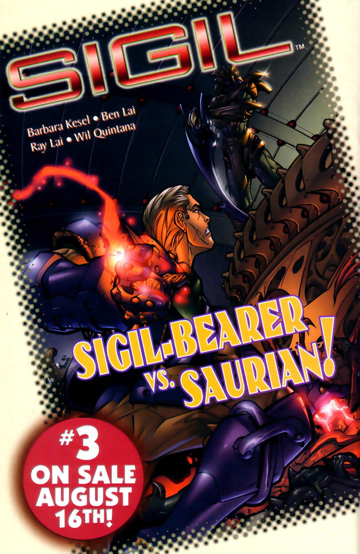 Read online Sigil (2000) comic -  Issue #2 - 25
