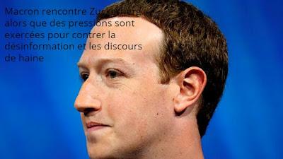 Macron rencontre Zuckerberg
