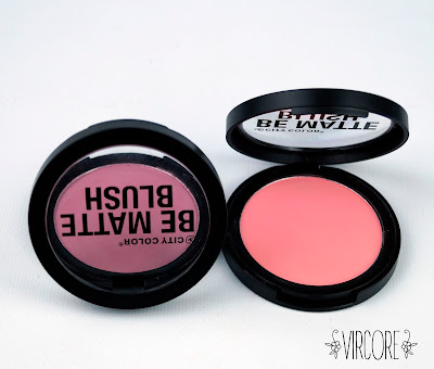 BE MATTE BLUSH city color fresh melon