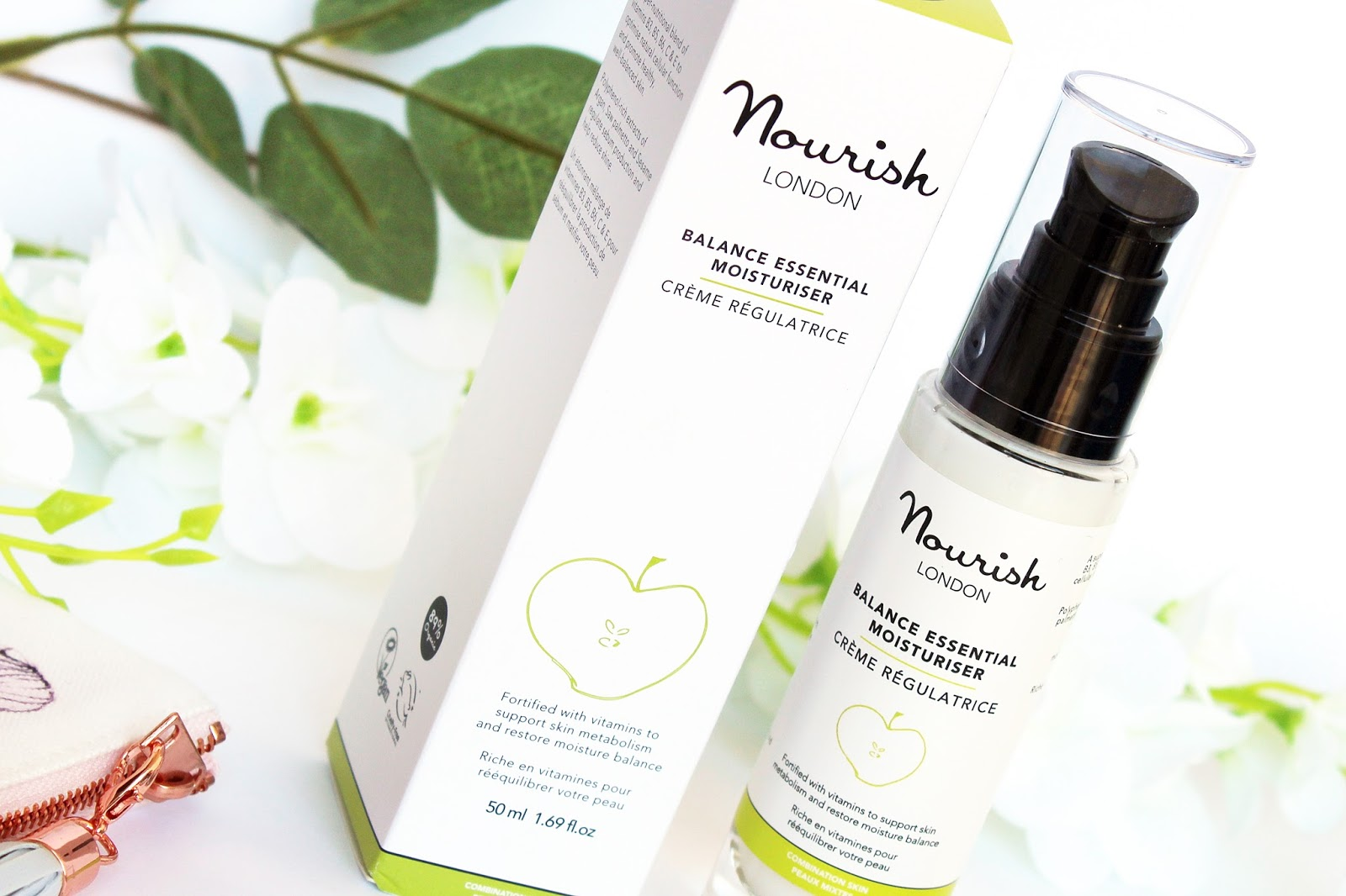 Nourish, Balance Nutritius Peptide Serum oraz Balance Essential Moisturiser, czyli odżywcze serum peptydowe i krem nawilżający do skóry mieszanej i tłustej