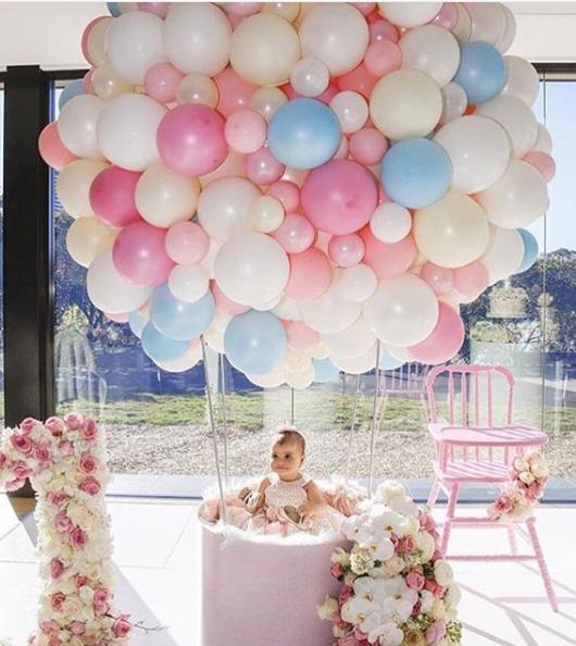 Un globo aerost tico para mi primer a o y bautizo for Globo terraqueo decoracion