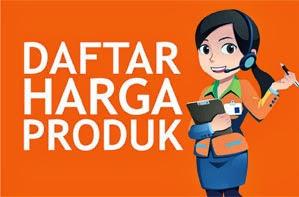 Daftar Harga Produk NASA Wilayah Jawa