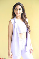 Tanya Hope in Crop top and Trousers Beautiful Pics at her Interview 13 7 2017 ~  Exclusive Celebrities Galleries 027.JPG