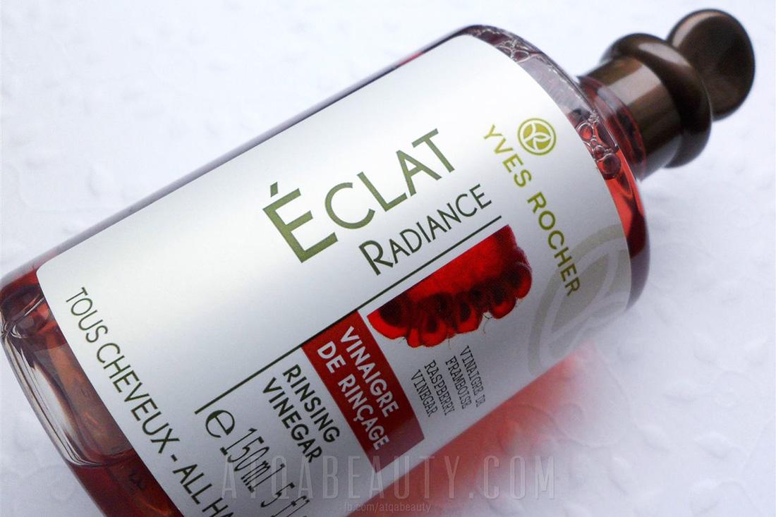 Yves Rocher, Radiance, Rinsing Vinegar (Płukanka octowa z malin)
