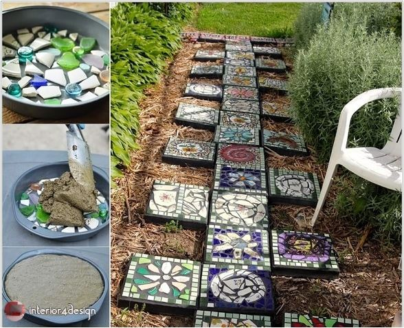 10 Ideas For Decorating The Garden With Mosaic