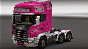 My Little Pony skin for Scania