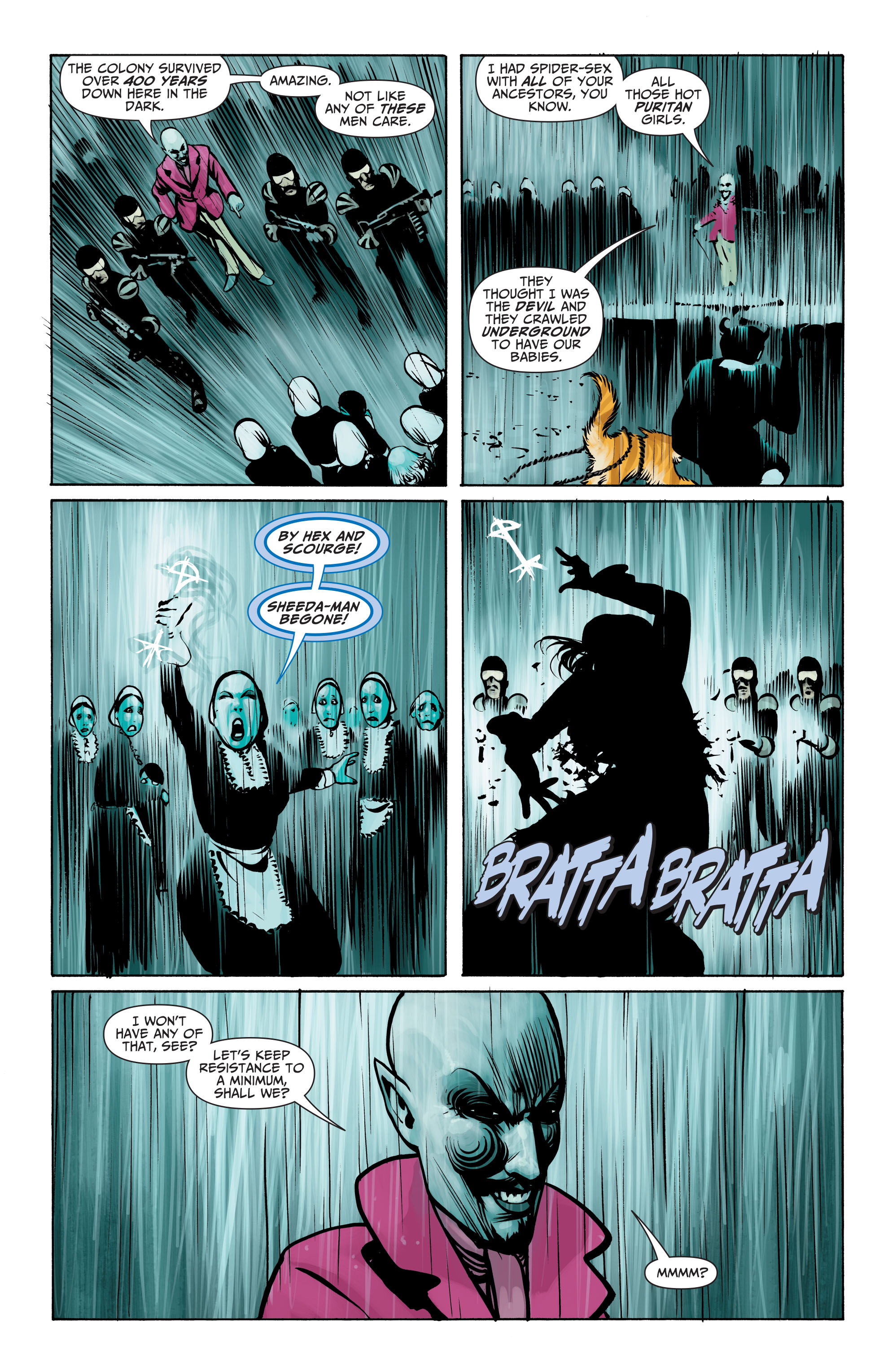 Read online Seven Soldiers: Klarion the Witch Boy comic -  Issue #4 - 7