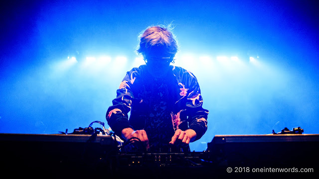 DJ Brendan Canning of Broken Social Scene at The Danforth Music Hall on May 19, 2018 to celebrate the One-Year Anniversary of the Josie Dye show on Indie 88 Photo by John Ordean at One In Ten Words oneintenwords.com toronto indie alternative live music blog concert photography pictures photos