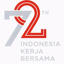 Kumpulan Logo Resmi Hut Ri ke 72 Tema Indonesia Kerja Bersama