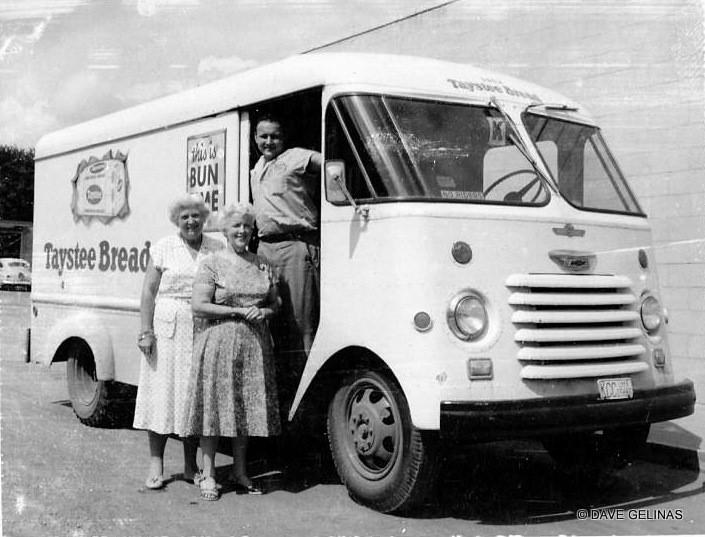 Taystee Bread Truck Chevrolet Step Van Ca 1959