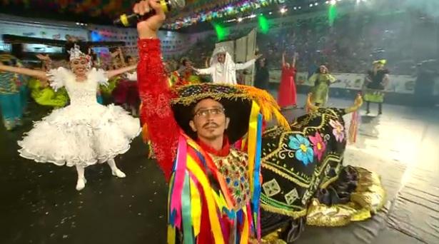 A Junina Babaçu conquista o 1º lugar no Festival de Quadrilhas da Globo Nordeste