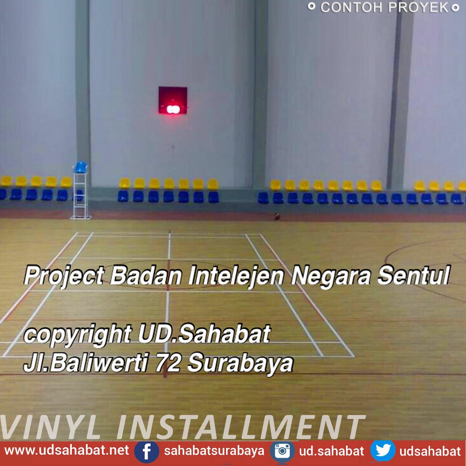 jual lantai vinyl lapangan basket udsahabat surabaya