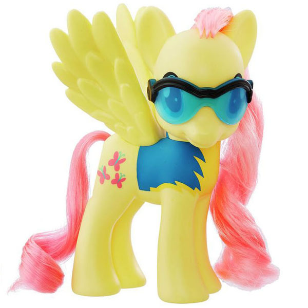 My Little Pony Wonderbolts 6 Pack Fluttershy Brushable