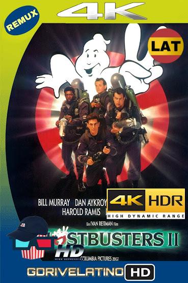 Los Cazafantasmas 2 (1989) BDRemux 4K HDR LAT-CAS-ING MKV
