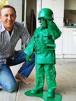 disfraz para niño soldado de juguete