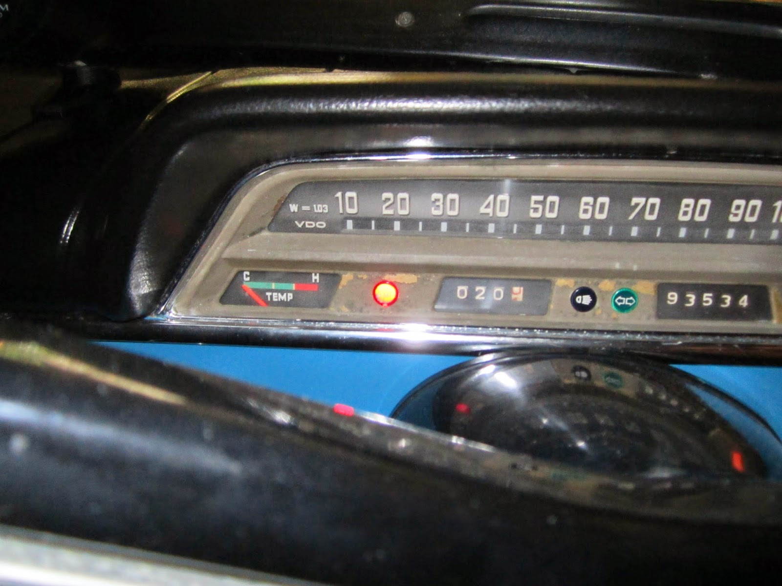 Restoration Volvo 122s 1969 Motorola Alternator External Regulator Wiring Diagram Little Red Amp Light In Dashboard