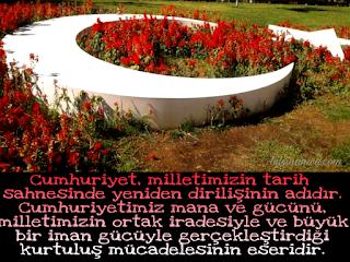 Resimli Cumhuriyet Bayramı Mesajı